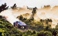 Download wallpapers Peugeot 3008, Dakar Rally 2018, Dune buggy, race, rally car