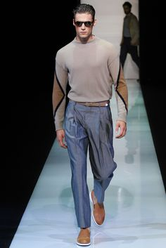 Giorgio Armani Spring 2013 Menswear Collection