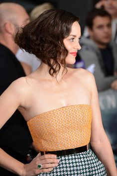 Marion Cotillard Short Wavy Cut - Short Hairstyles Lookbook - StyleBistro