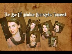 "Прически в стиле Адалин Боуман из фильма ""Век Адалин"" ♥ The Age of Adaline hairstyles tutorial - YouTube"