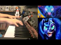 Nightmare Night - WoodenToaster + Mic The Microphone (Piano Cover by Amo...