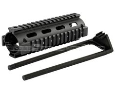 AR Handguard Carbine Length Quad Rail System + DELTA RING WRENCH COMBO | eBay