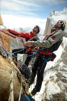 "By Austrian athlete David Lama on his recent Expeditions in Pakistan: ""I had major expectations on my expedition to Pakistan. My main goal was to climb the Trango Tower, but already  before I started the journey and saw the Karakoram with my own eyes, I hoped, more than anything else, to find some kind of a personal Mecca in this mountain range. I wanted to leave my eyes wide open for new, future challenges …""    Photography: Corey Rich [Alpine Climbing Mecca Karakoram – Eternal Flame.]"