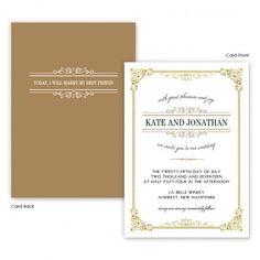 Skyla Classic Wedding Invitations