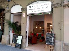 24 Fotogramas,cervecería, cafetería, bar de tapas y restaurante.C/Floridablanca 108 #Barcelona #Eixample  #establecimientorecomendado