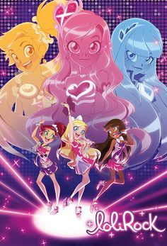 Lolirock, 2018 // Jem meets Sailor Moon with a dash of MLP. – Anime Characters Epic fails and comic Marvel Univerce Characters image ideas tips Magical Girl, Dessin Lolirock, Filles Equestria, Sailor Moon, Doki Doki Anime, Les Lolirock, Cartoon Puzzle, Cartoon Pics, Glitter Force