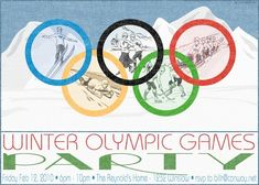 Winter Olympics Party: Invitations, Decorations, Art Activites, Games, and More