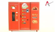 Pizza Vending Machines To Debut In The US - DesignTAXI.com