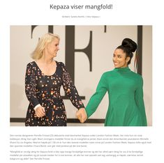 The Norwegian website SQN has made an article about Kepaza. Fashion Labels, Scandinavian Style, Powerful Women, Older Women, Girl Boss, Girl Power, Catwalk, Branding Design, Women Wear