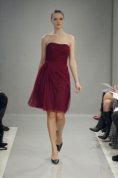 Monique Lhuillier Bridesmaids Dresses Runway Show, Fall 2013 - Wedding Dresses and Fashion Ideas