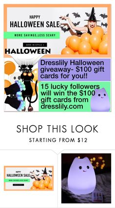 """🎃👻🎃HALLOWEEN GIVEAWAY-NEW CONTEST!!!"" by paculi ❤ liked on Polyvore"