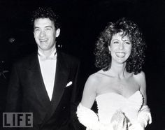 Did you know that Rita Wilson is Greek American and her husband Tom Hanks converted to become Greek Orthodox. He is very proud to be a Philhellene and this Hollywood power couple attends Saint Sophia Greek Orthodox Cathedral in Los Angeles. Here is a cute picture of them from before they were married.
