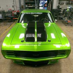 "69 Camaro ""Green Monster"""