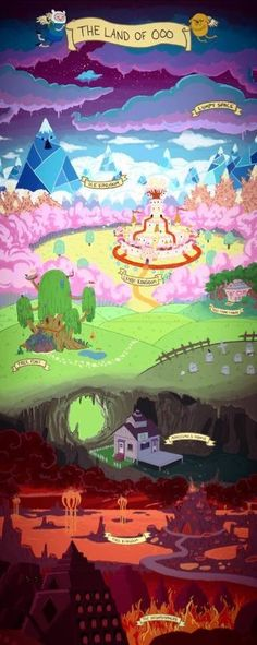 The Land of Ooo - Adventure Time
