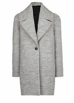 Mango wool coat.