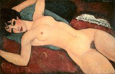 Nudo disteso  - Modigliani Amedeo (1884-1920) - STAMPA SU TELA € 58,00