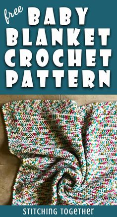 Crochet baby blanket 139259813464133405 - Need a last minute baby shower gift? This easy crochet baby blanket pattern is just what you're looking for. The design is simple but certainly not boring. Don't forget to save it! Source by stitchingtog Crochet Baby Blanket Free Pattern, Afghan Crochet Patterns, Free Crochet, Crochet Afghans, Baby Afghans, Crochet Stitches, Knitting Patterns, Easy Baby Blanket, Baby Blankets