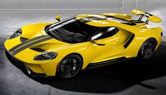 yellow ford gt 2017 - Google Search
