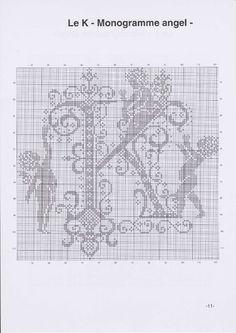 Вышиваем крестиком. МОНОГРАММЫ С АНГЕЛАМИ (14) (495x700, 188Kb)