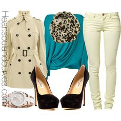 Emilio Pucci sweater, Burberry trench, Jimmy Choo pumps + Topshop scarf