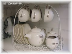 Thee- of koffieset 15-delig J-Line