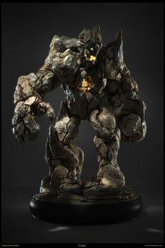 Titan by Carlos Vidal   Creatures   3D   CGSociety