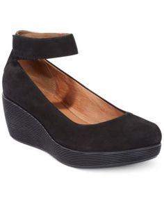 Love these cute simple heels..totally my style  Clarks Artisan Women's Claribel Fame Platform Wedges | macys.com