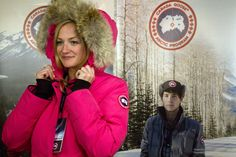 Canada Goose parka online official - I just like this Canada Goose Kensington Parka Blue Womens ...