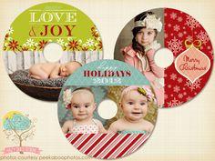 CD/DVD Label Templates  by Hazy Skies Designs