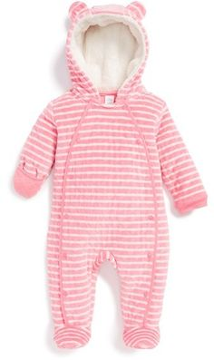 Nordstrom Baby Hooded Bunting (Baby Girls)