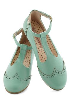 Joy and Merri-mint Flat | Mod Retro Vintage Flats | ModCloth.com