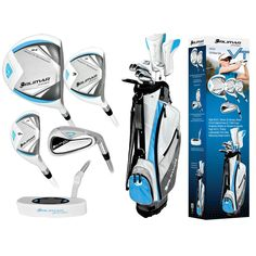 Orlimar VT Sport Right Hand Women's Flex Complete Golf Set | Overstock.com  This will arrive at my door step on Thursday. Can't wait.