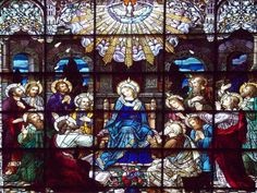 Third Glorious Mystery - The Descent of the Holy Spirit at Pentecost  The Paraclete