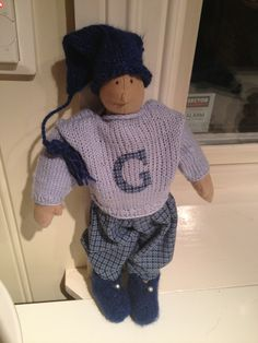 Doll for baby Georg
