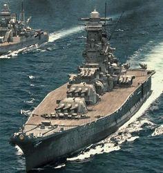 Yamato, nombró la Provincia de Yamato antigua japonesa, era el barco de plomo(ventajoso) de la clase de Yamato de los acorazados que sirvieron con la Marina Imperial japonesa durante la segunda Guerra Mundial. El 7 de abril de 1945 ella fue hundida por bombarderos americanos a base de portador y bombarderos de torpedo con la pérdida de la mayor parte de su equipo(tripulación)