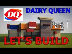 This one is a simple modern Dairy Queen. In this video we will be doing the exterior and overall building. Minecraft City Buildings, Minecraft Architecture, Minecraft Construction, Dairy Queen, Minecraft Creations, Chicago Cubs Logo, Exterior, Let It Be, Youtube