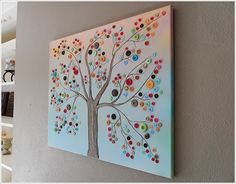 button art - great rainy day project