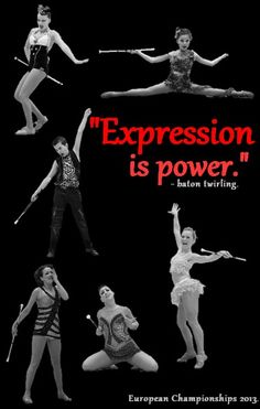 Expression Is Power... Baton Twirling!