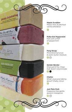 All of our Chunk soap bars! #perfectly #posh  http://www.perfectlyposh.us/NONIEPOSH/