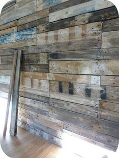 mur vieux bois