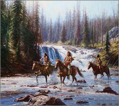 Image detail for -Martin Grelle - Crows in the Yellowstone  kK