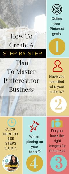 Have you identified who your niche is? Knowing this information will help you create and curate that speaks to the needs of your target audience. Remember that specialization leads to wealth. You can't be all things to all people. Here's a simple step-by-step plan on how your business can efficiently maximize its' Pinterest marketing.