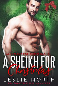 A Sheikh for Christmas, All I Want for Christmas is You, Adult, Contemporary, Romance, Leslie North