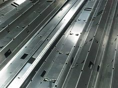 CNC bent aluminium sheet metal sections used to house linear light fittings http://www.vandf.co.uk/plant-list/edwards-pearson-pr3pr6/
