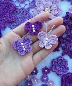 Crochet butterfly pattern by bautawitch – Artofit You can find more step by step here: Crochet flowers No photo description available. Crochet Butterfly Free Pattern, Crochet Birds, Crochet Motifs, Crochet Flower Patterns, Crochet Flowers, Knitting Patterns, Crochet Chain, Flower Applique, Craft Patterns