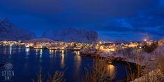Reine, Lofoten, Noche, Night, Nuit, Natt. Lofoten, Blue Hour, Denmark, Norway, Travel Guide, Germany, Essentials, Magic, Sky