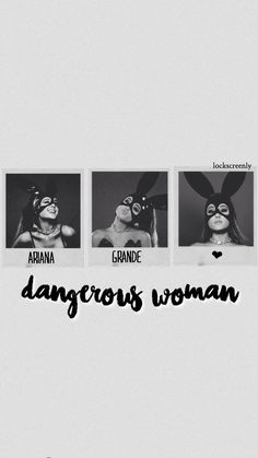 Imagem de black and white, wallpaper, and ariana