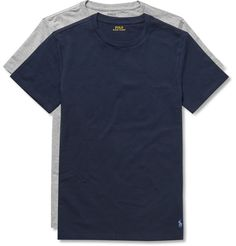 TWO-PACK STRETCH-COTTON JERSEY T-SHIRTS POLO RALPH LAUREN