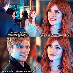 #ShadowHunters @oxmariieele >> YEAH SEBASTIAN WE DON'T CHOOSE OUR PARENTS BUT WE DO CHOOSE NOT TO BE MURDEROUS PSYCHOPATHS