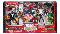 Marvel Legends Action Figure Boxed Set SpiderMan vs. The Sinister Six